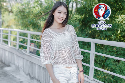 hot girl trung quoc ung ho dt phap vo dich euro 2016 hinh anh 9