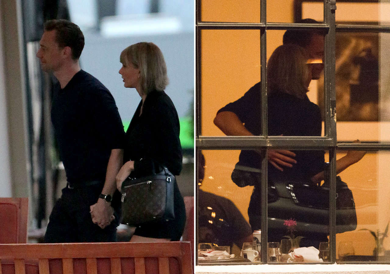 taylor swift va tom hiddleston ra mat cha me hai ben hinh anh 8