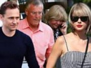 Giai tri - Taylor Swift va Tom Hiddleston ra mat cha me hai ben