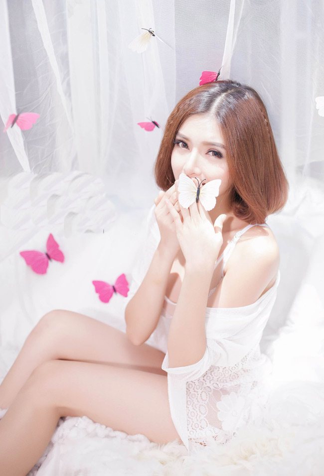 ngam bo anh day goi cam cua hot girl lilly luta hinh anh 6