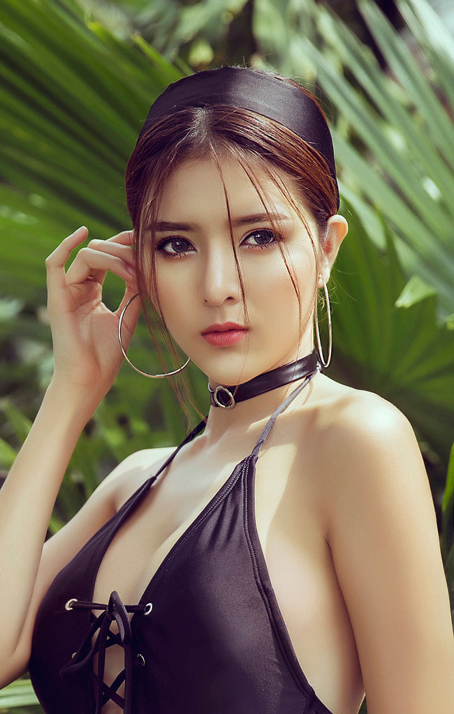 ngam bo anh day goi cam cua hot girl lilly luta hinh anh 14