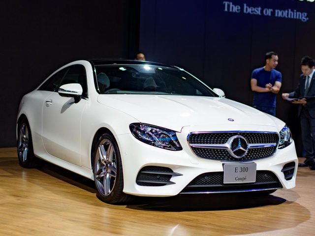 mercedes e-class coupe gia 2,6 ty dong dep me hoac hinh anh 1