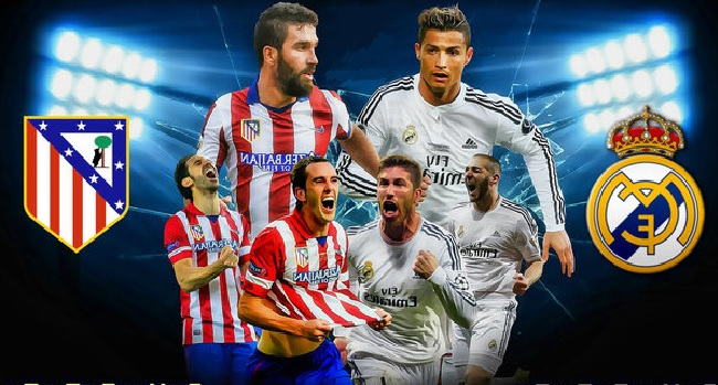 link xem truc tiep real madrid vs atletico madrid hinh anh 1