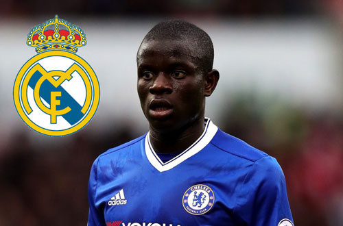 "real madrid ""pha ket"" cuom n'golo kante khoi chelsea hinh anh 1"