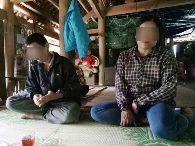 nu sinh lop 7 sinh con rung dong lang que ngheo hinh anh 1