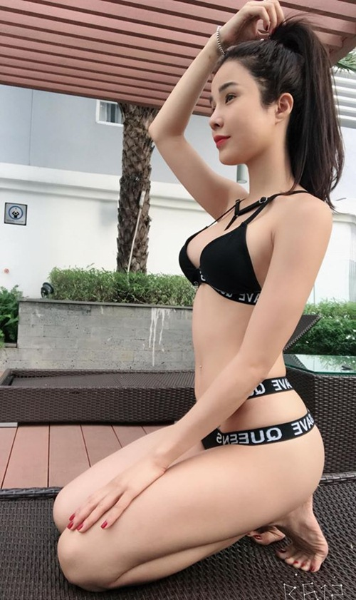 nong ruc voi my nu co dang ngoi sexy nhat showbiz viet hinh anh 6
