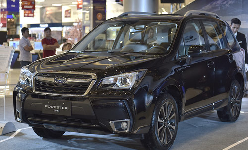 subaru forester 2017 gia 1,4 ty dong o viet nam hinh anh 1