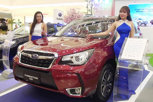 subaru forester 2017 gia 1,4 ty dong o viet nam hinh anh 2