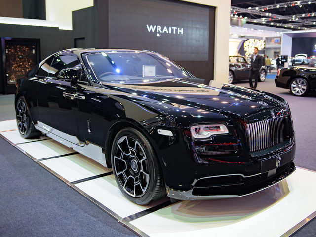 ngam rolls-royce wraith black badge gia 23 ty dong hinh anh 1