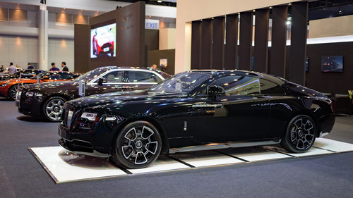 ngam rolls-royce wraith black badge gia 23 ty dong hinh anh 2