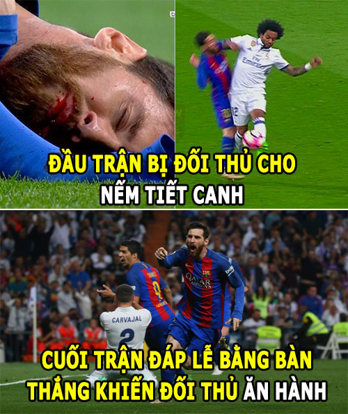 "anh che: messi ""tieu diet"" real, ronaldo can hoc lam nguoi hinh anh 1"