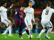 The thao - Link xem truc tiep Real Madrid vs Barcelona