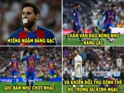 "The thao - aNH CHe: Messi ""tieu diet"" Real, Ronaldo can hoc lam nguoi"