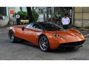 o to - Xe may - Pagani Huayra 80 ty dong di bam bien so o TP.HCM