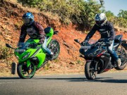 o to - Xe may - So ke 2017 Kawasaki Ninja 300 va Yamaha YZF-R3