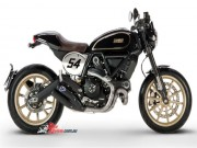 o to - Xe may - Bi mat cua 2017 Ducati Scrambler Cafe Racer sap ve Viet Nam