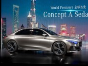 o to - Xe may - Mercedes Concept A Sedan: Phien ban sedan moi cua A-Class