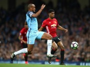 The thao - Clip Fellaini linh the do, M.U gong minh cam hoa Man City