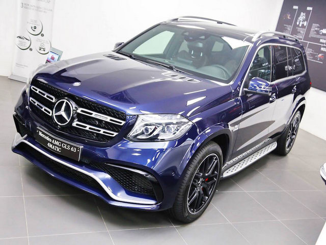 mercedes-amg gls63 gia 12 ty dong tai viet nam hinh anh 1