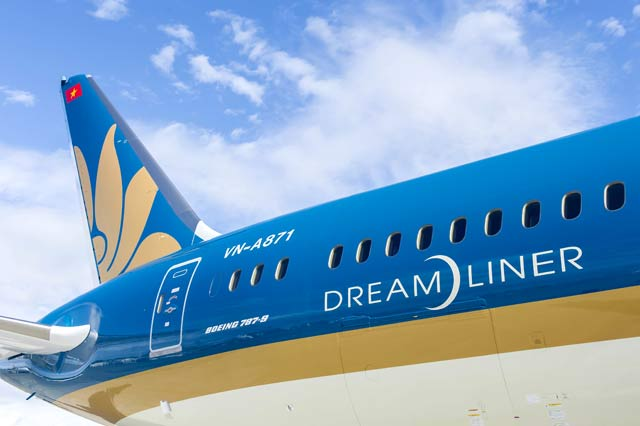 vietnam airlines don nhan may bay boeing 787-9 dreamliner thu 11 hinh anh 1