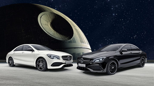 mercedes cla phien ban star wars gia 1,01 ty dong hinh anh 1