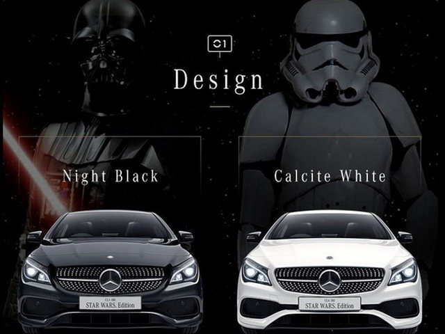 mercedes cla phien ban star wars gia 1,01 ty dong hinh anh 2