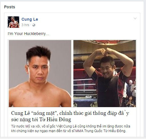 vo si viet cung le chinh thuc tuyen chien voi tu hieu dong hinh anh 1