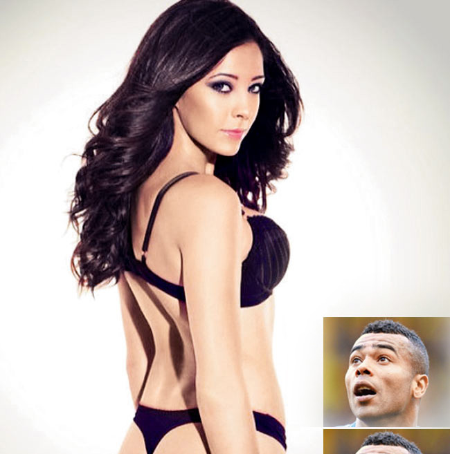 "chan sut ""hu hong"" ashley cole chet me my nu sexy nay hinh anh 2"