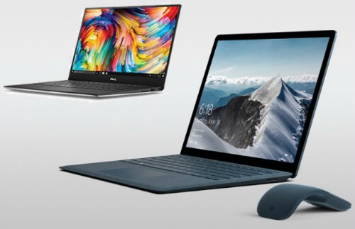microsoft surface do suc cung dell xps 13 hinh anh 1
