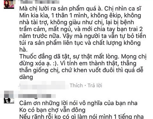 ca si toc tien thang than dap tra anti fan len mat day doi hinh anh 3