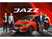 Honda Jazz 2017 ra mat, gia rat re chi 365 trieu dong