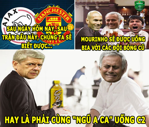 "anh che (24.5): hlv mourinho so uong ""c2"" cung wenger hinh anh 1"