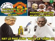 "The thao - aNH CHe (24.5): HLV Mourinho so uong ""C2"" cung Wenger"
