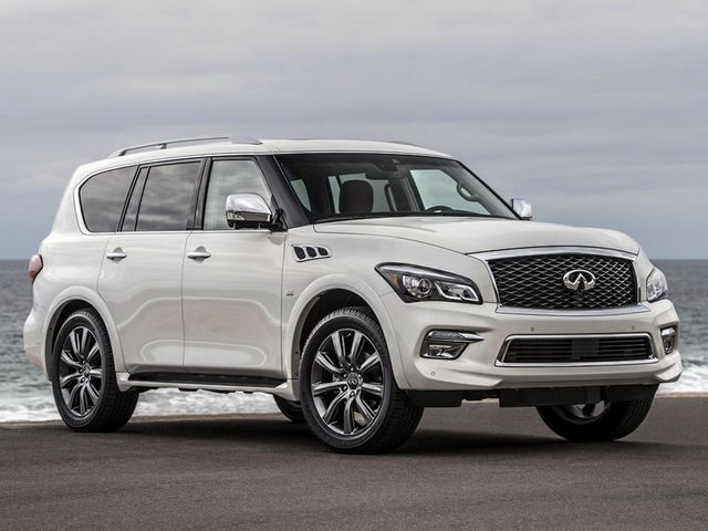 infiniti qx80 signature edition chot gia 1,55 ty dong hinh anh 1