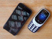 Nokia 3310 do camera iPhone 7: Lay trung choi da