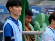 The thao - Tien dao U20 Viet Nam bat khoc vi som roi U20 World Cup