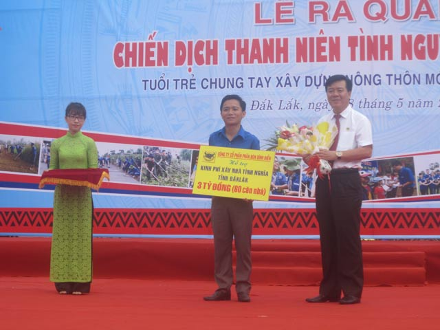 binh dien huong ung chien dich thanh nien tinh nguyen he 2017 hinh anh 4