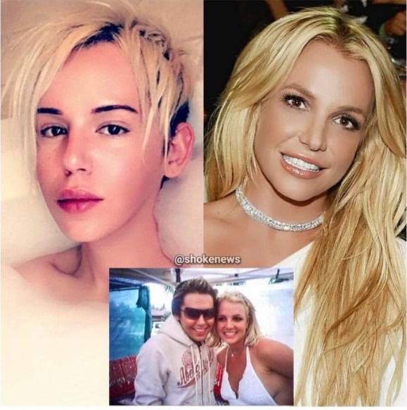 """tham hoa dao keo"" chi 2 ty dong de giong britney spears hinh anh 1"