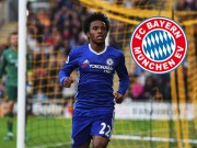 "The thao - Bayern Munich chi dam ""can mui"" M.U trong vu mua Willian"