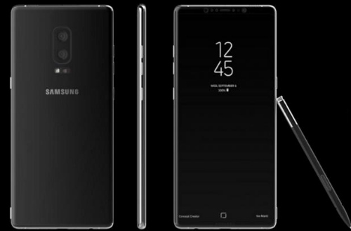 galaxy note 8 se co man hinh vo cuc, chay android moi nhat hinh anh 1