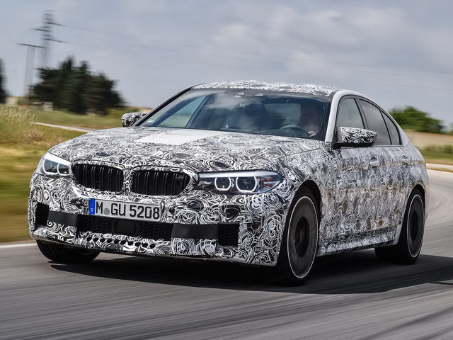 bmw m5 the he moi lo dien voi nhieu cai tien hinh anh 1