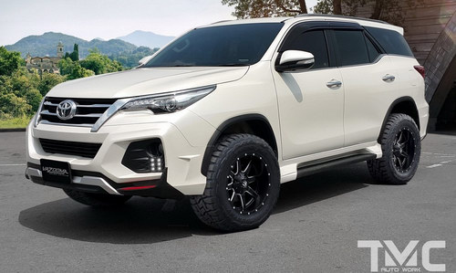 ngam toyota fortuner manh me voi goi do vazooma-x hinh anh 1