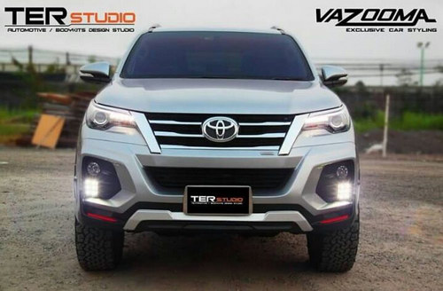 ngam toyota fortuner manh me voi goi do vazooma-x hinh anh 3