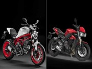 Ducati Monster 797 hay Triumph Street Triple S: Chon xe nao?