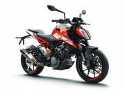 o to - Xe may - KTM thu hoi 125 Duke va 390 Duke 2017 do loi den pha