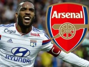 The thao - Lyon len tieng ve thong tin Arsenal mua Lacazette