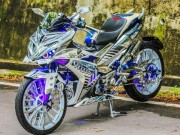 "o to - Xe may - Choang ngop Yamaha Exciter 150 do ""dinh"" nhat the gioi"