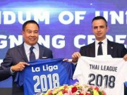 The thao - Thai League ky ket hop tac voi La Liga
