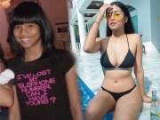 Tu mot co gai den nhem, gay go da  & quot;day thi & quot; thanh hot girl boc lua