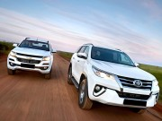 "o to - Xe may - So sanh Chevrolet Trailblazer 2018 va Fortuner 2017: Cuoc lat do ""ngai vang"""